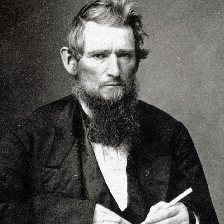 Ezra Cornell from the 1860s